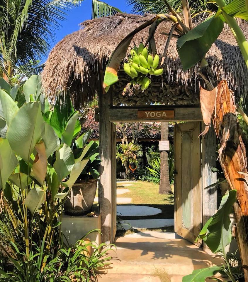 Yoga entrance