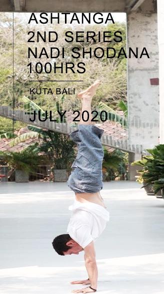 100 Hrs Ashtanga Second Series : Nadi Shodana in Bali