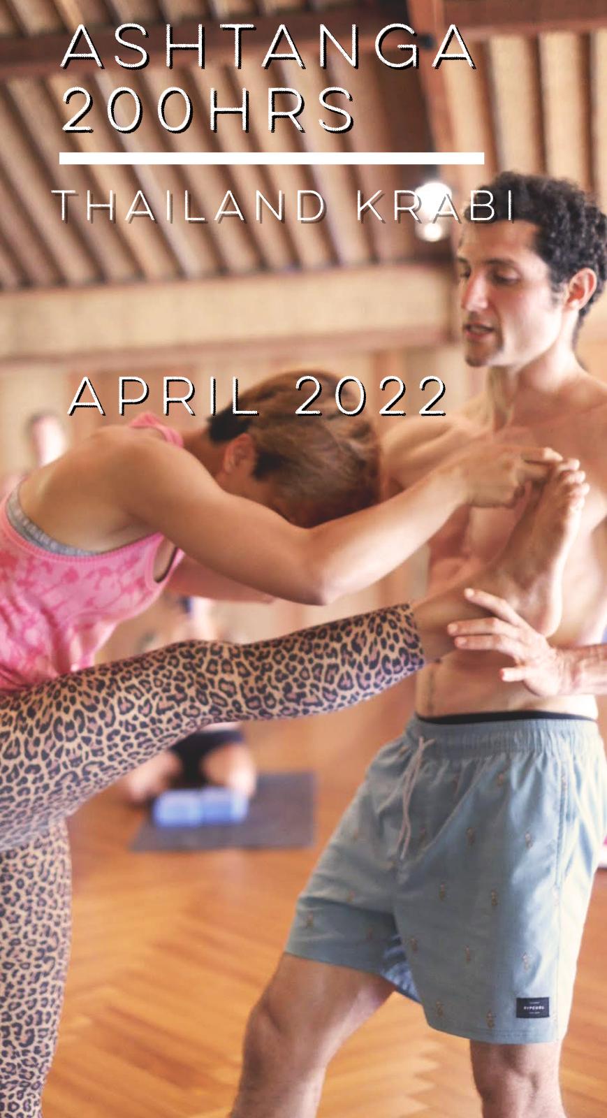 Ashtanga 200Hrs Thailand April 2022