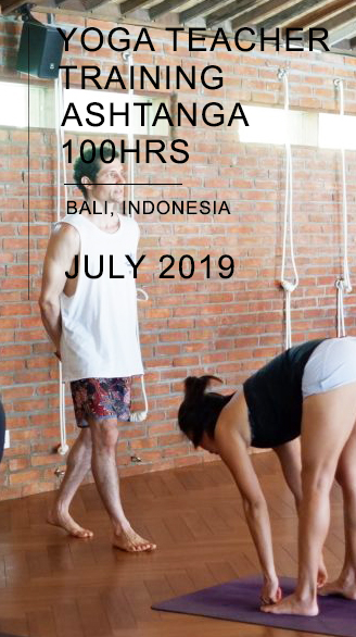 YOGA TEACHER TRAINING ASHTANGA 100 BALI